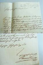 Verleger Eduard VIEWEG (1797-1869): Brief BRAUNSCHWEIG 1841; Überreichung HERZOG