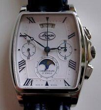 Poljot Buran Chronograph Kaliber 31679 Mondphase Edelstahl 500 Stück limitiert