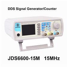 JDS6600-15M 15MHz Dual Channel DDS Signal Generator 1Hz-100MHz Digital Display