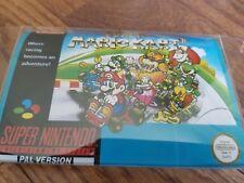 Sleeve for SNES SFC Super Nintendo famicom Mario Kart game USA japan fun good