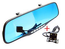 "4.3"" Full HD 1080P Auto DVR Dash Cam Spiegel Rückspiegel Rückfahrkamera Recorder"