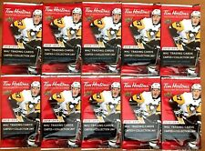 2018-19 TIM HORTONS HOCKEY CARDS 10 SEALED NEW UNOPENED PACKS RELICS? MCDAVID ?