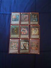 Carte rare yu gi oh + deck box ultrapro + bustine ultrapro (50)