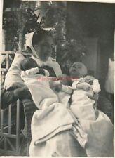 3 x Foto, Krankenschwester in Hanau,  Schwestern und Babys  (N)19246