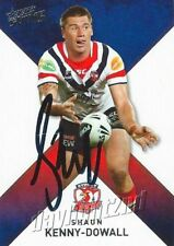 ✺Signed✺ 2011 SYDNEY ROOSTERS NRL Card SHAUN KENNY-DOWALL