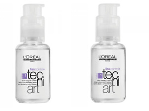 L'Oreal Professionnel Liss Control Plus Tecni Art Hair Serum - 50ml x 2