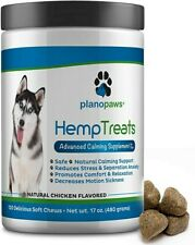 Hmp Treats for Dogs - Advanced Calming Supplements - Hemp Oil -Safe All-Natural