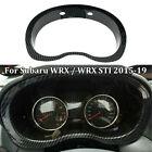 Look Dashboard Meter Frame Carbon Fiber Cover For Subaru WRX / WRX STI 2015-2019