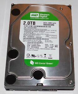 WD20EARS Western Digital Interne Festplatte WD Green 2TB, SATA