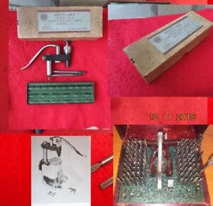 Westlake Staking & Seitz Jeweling Compatible Tool Set  Micrometer Watchmaker Uni