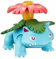 Takara Tomy Pokemon Moncolle MC EX71 Venusaur 4CM MINI Toy Figure Pocket Monster