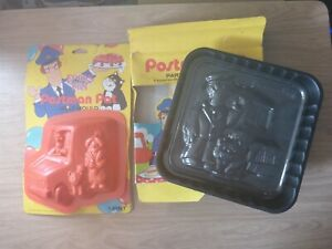 Postman Pat Cake & Jelly Mould Vintage 80s