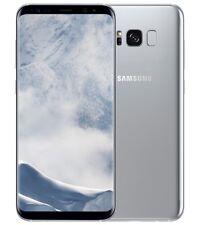 NUOVO Samsung Galaxy S8 sm-g950f ARTICO argento 64GB Sbloccato 4G LTE Smartphone