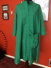 Cos Green Shirt Dress Size M 14