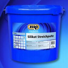 5x ZERO Silikat Streichputz 25 kg -Mineralfarbe auf Silikatbasis-609109010