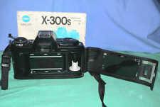 Minolta X-300s X300s 35mm Film SLR Body Retro Vintage Camera Spiegelreflexkamera