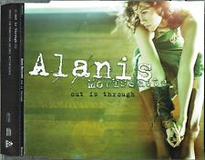 "ALANIS MORISSETTE - 5"" CD - Out Is Through (Promo CD Single) + Lyrics. Maverick"