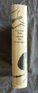 """Jean-Henri FABRE, """"Souvenirs d'un Entomologiste"""" 1955 / livre-club num. 5000 ex."""
