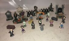 Large lot of Halloween Figures and props - halloween town people