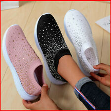 WOMENS SOCK RUNNING CASUAL SNEAKERS TRAINERS SLIP ON SPORT JOGGING TENNIS SHOES