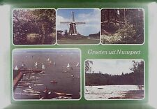 CPA Holland Nunspeet Windmill Moulin Windmühle Molin Mole Mill Wiatrak w376