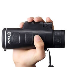 New 35x50 Night Vision Adjustable Zoom Monocular Telescope Camping Hunting CA