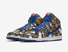"""Nike SB Dunk High Pro """"Ugly Sweater"""" GS (AO1559-446) 6Y Women's 7.5 Sold Out!"""