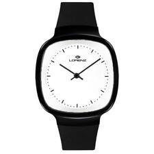 Orologio LORENZ VIGORELLI 26611 Vera Pelle Nero Bianco SWISS MADE Limited