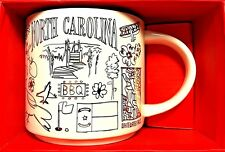 Starbucks Mug Been There Series Collectible North Carolina NC 14 Ounces New LE
