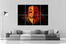 GALATASARAY FC FOOTBALL ANONYMOUS Wall Art Poster Great format A0 Wide Print