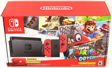 Rare Nintendo Switch Super Mario Odyssey Edition BOX ONLY No Game System Console
