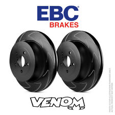 EBC BSD Trasero Discos De Freno 286 MM para VW Jetta Mk6 2.0 TD 150bhp 2014-BSD1410