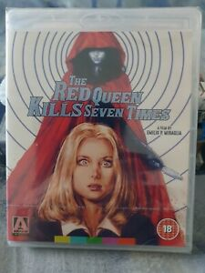 The Red Queen Kills Seven Times Blu-ray, Arrow Video, Giallo, horror, cult