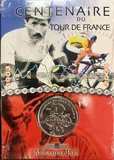 COFFRET FRANCE - CENTENAIRE DU TOUR DE FRANCE - 1/4 D'EURO ARGENT