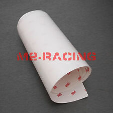 "Sample 3""x6"" 3M Scotchgard 8mil Clear Paint Protection Bra Film Vinyl Wrap Decal"