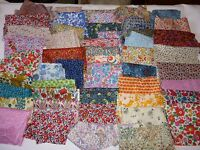 Liberty of London Tana Cotton fabric 1 fat quarters worth bits/remnants/scraps