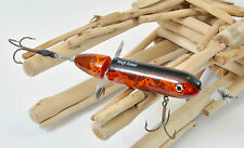 2005 Ty Sennett  Rough Runner Black Orange Lace Muskie Lure Bait HARD TO FIND