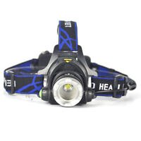 5000LM XM-L XML T6 LED Headlamp Headlight flashlight 18650 head light lamp、Hot
