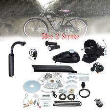49cc 4-Takt Zyklus Motor Kit Motorisierte Fahrrad Benzin Gas Fahrrad Motorrad DE