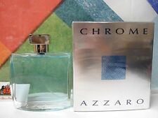 CHROME BY AZZARO EAU DE TOILETTE 3.4 OZ / 100 ML SPRAY NEW IN BOX