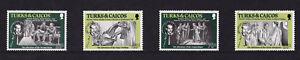 Turks & Caicos Islands - 1984 Sir Arthur Conan Doyle - U/M - SG 813-816