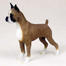 Boxer Hand Painted Dog Figurine Statue