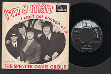 """7""""  SPENCER DAVIS GROUP I'M A MAN / I CAN'T GET ENOUGH OF IT ITALY 1967 FONTANA"""