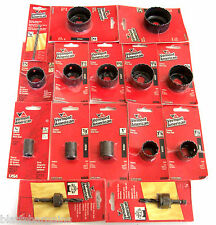 15pc Vermont American By Bosch Hole Saw Assortment Set With Mandrels Drill Bit