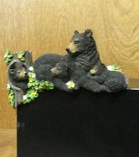 Castagna Corner Creations Animal Figurine 60483 BLACK BEAR NEW/Box Shelf Sitter