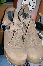 Used Pair of WELLCO Brand Military DESERT Combat Boots SZ 10.5W VIBRAM Soles