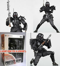 Kaiyodo REVOLTECH 061 Kerberos Panzer Cop Protect Gear Red Spectacles Figure Toy