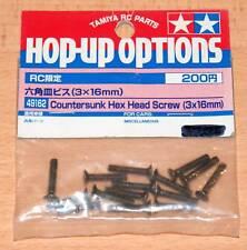 Tamiya 49162 Countersunk Hex Head Screw (3x16mm), (TRF414/TRF415/TRF416), NIP