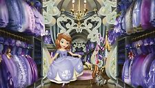 Sofia the First Wall Mural NEW Prepasted Wallpaper Disney Room Decor 10.5' x 6'
