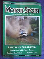 MOTORSPORT - NISSAN Z CARS - Jan 1988 vol 64 # 1